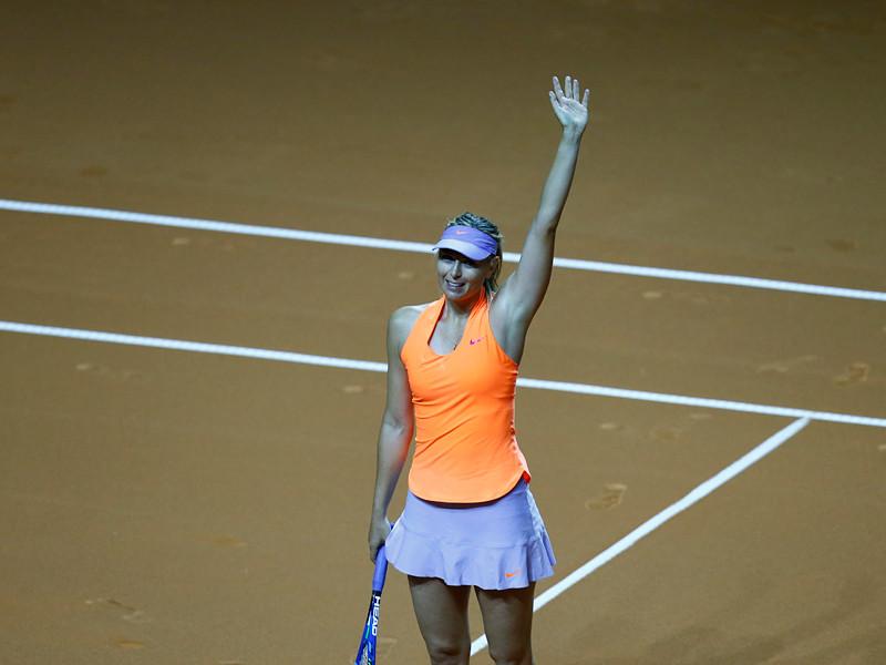 Россиянка Мария Шарапова вышла в четвертьфинал турнира Женской теннисной ассоциации (WTA) в Штутгарте