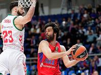 Баскетболисты московского ЦСКА победно стартовали в плей-офф Евролиги
