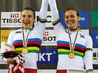 Российские велогонщицы защитили титул чемпионок мира в командном спринте на треке