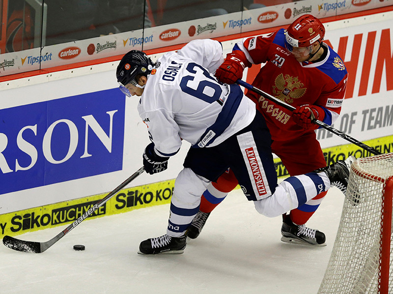 Сборная России по хоккею потерпела поражение во матче Чешский игр Европейского хоккейного тура против Финляндии (0:1)