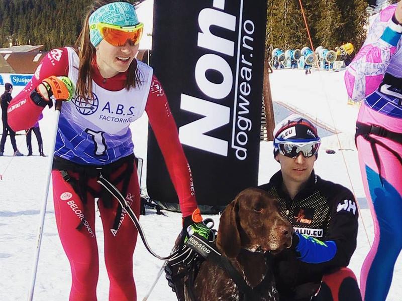 Бьорндален опередил свою жену Домрачеву в забеге на собачьих упряжках