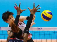 Волейболистки сборной Японии используют на тренировках робота (ВИДЕО)