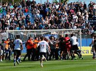 """Футболисты """"Лиона"""" написали заявления в полицию после нападения фанатов """"Бастии"""""""