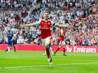 """В субботу вечером """"Арсенал"""" на стадионе """"Уэмбли"""" победил """"Челси"""" со счетом 2:1 в финальном матче Кубка Англии по футболу и стал обладателем трофея в рекордный 13-й раз"""