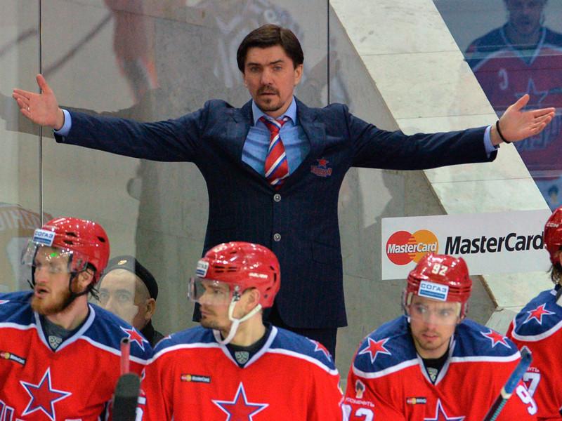 Новым главным тренером хоккейного ЦСКА назначен Игорь Никитин