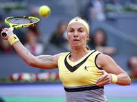 Светлана Кузнецова не смогла пробиться в финал мадридского турнира
