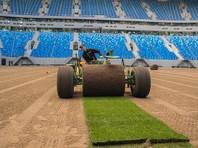 """Поле арены """"Санкт-Петербург"""" будет готово за неделю до старта Кубка конфедераций"""