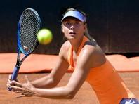 Мария Шарапова победно стартовала на теннисном турнире в Риме