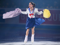 Фигуристка Медведева вновь покорила сердца японцев в образе Сейлор Мун
