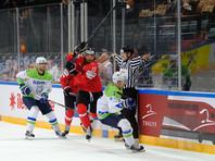 Словения отыгралась с 0:4, но уступила Швейцарии в серии буллитов