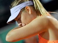 Мария Шарапова снялась с теннисного турнира в Риме из-за травмы бедра