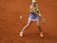 Кузнецова вышла в полуфинал турнира в Мадриде, одолев обидчицу Шараповой