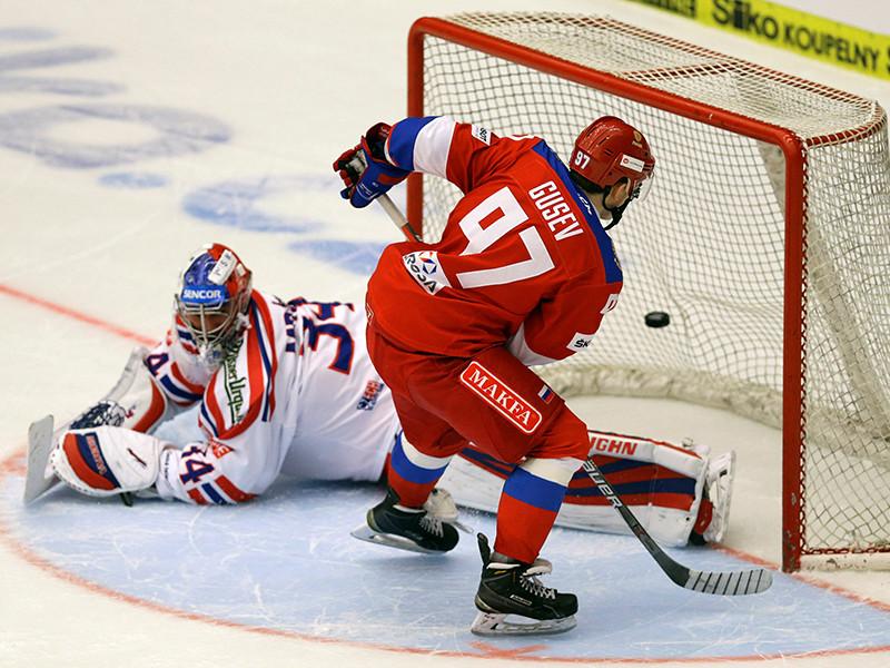 Российские хоккеисты обыграли чехов в последнем матче Евротура