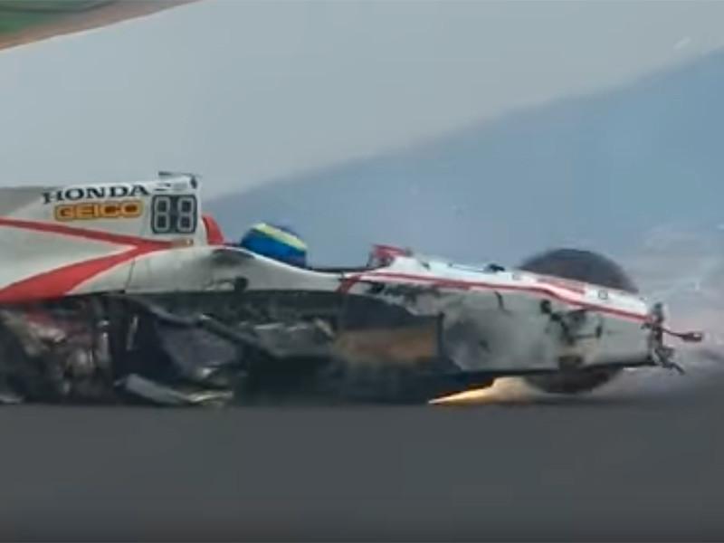 Французский гонщик разбился на скорости 370 километров в час