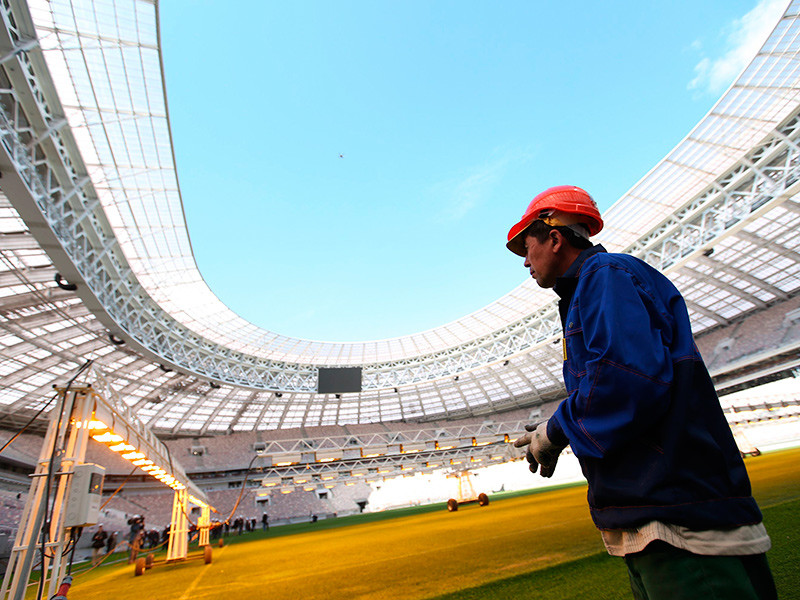 """Реконструкция стадиона """"Лужники"""" обошлась бюджету в 26,6 млрд рублей"""