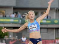 Российская прыгунья в длину Клишина победила на турнире в Инсбруке