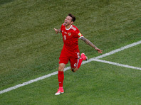 Федор Смолов оказался самым бьющим футболистом Кубка конфедераций