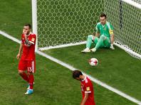 Российские футболисты проиграли мексиканцам и не попали в полуфинал Кубка конфедераций