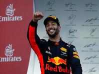 Австралиец Риккьярдо выиграл Гран-при Азербайджана