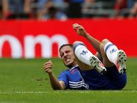 "Футболист ""Челси"" Эден Азар сломал ногу на тренировке сборной Бельгии"
