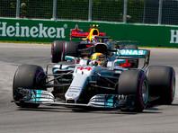 """Пилот """"Формулы-1"""" Льюис Хэмилтон выиграл Гран-при Канады"""