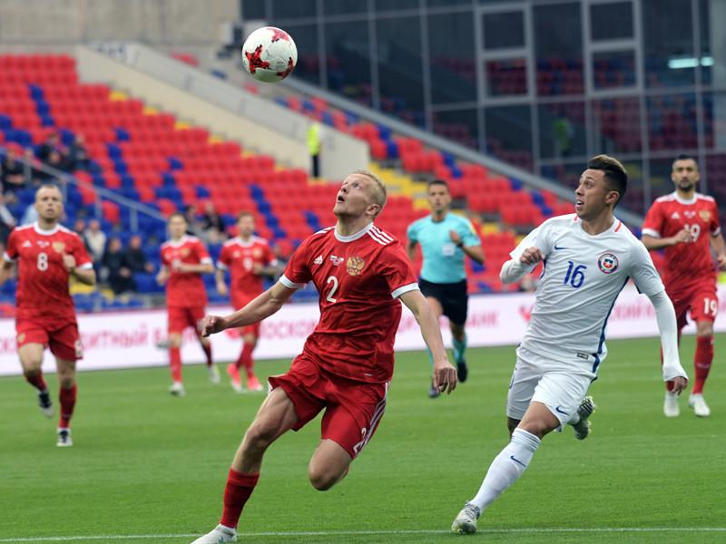 Сборная России по футболу разошлась миром с чилийцами в товарищеском матче
