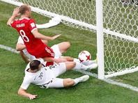 Глушаков выскочил на рандеву с Мариновичем и перекинул мяч в цель. Защитники пытались выбить мяч, но Боксолл лишь помог снаряду попасть в сетку и стал автором автогола - 1:0