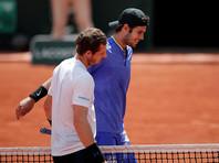 Хачанов проиграл первой ракетке мира в 1/8 финала Roland Garros
