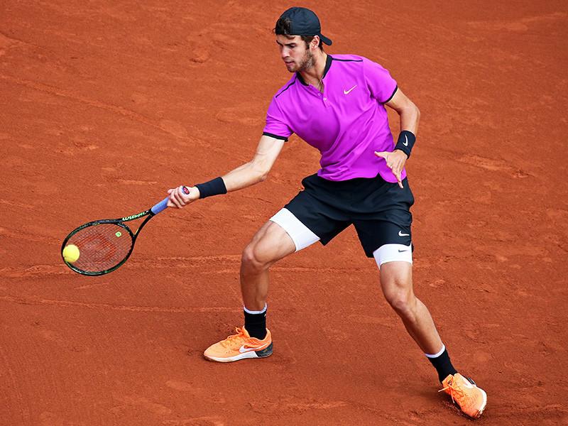 Карен Хачанов впервые в карьере добрался до третьего круга Roland Garros