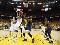 """""""Голден Стэйт"""" выиграл первую встречу финала НБА, продлив победную серию в плей-офф до 13 матчей"""