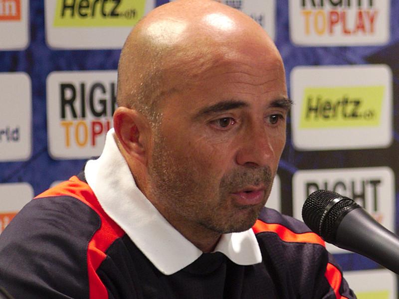 Хорхе Сампаоли представлен в качестве главного тренера аргентинской сборной по футболу