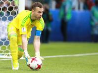 Вратарь Акинфеев стал лучшим на Кубке конфедераций по проценту отраженных ударов