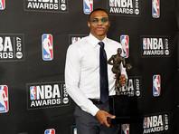 """Лучшим игроком сезона в НБА признан защитник """"Оклахомы"""" Расселл Уэстбрук"""
