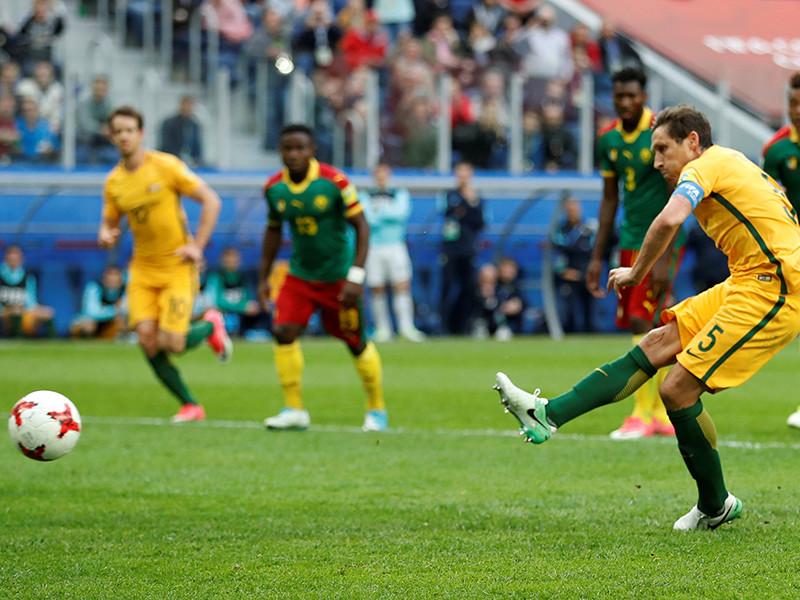 Камерун и Австралия разошлись миром на футбольном Кубке конфедераций