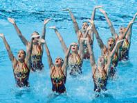 Синхронистки РФ победили на чемпионате мира в произвольной программе групп