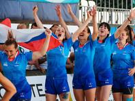 Россиянки стали первыми чемпионками Европы по пляжному регби