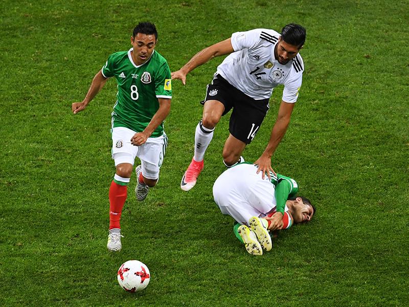 Гол футболиста сборной Мексики Марко Фабиана в полуфинальном матче Кубка конфедераций 2017 года против команды Германии (1:4) признан болельщиками лучшим среди забитых на турнире