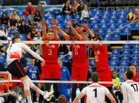 Сборная России по волейболу неудачно стартовала в финале Мировой лиги