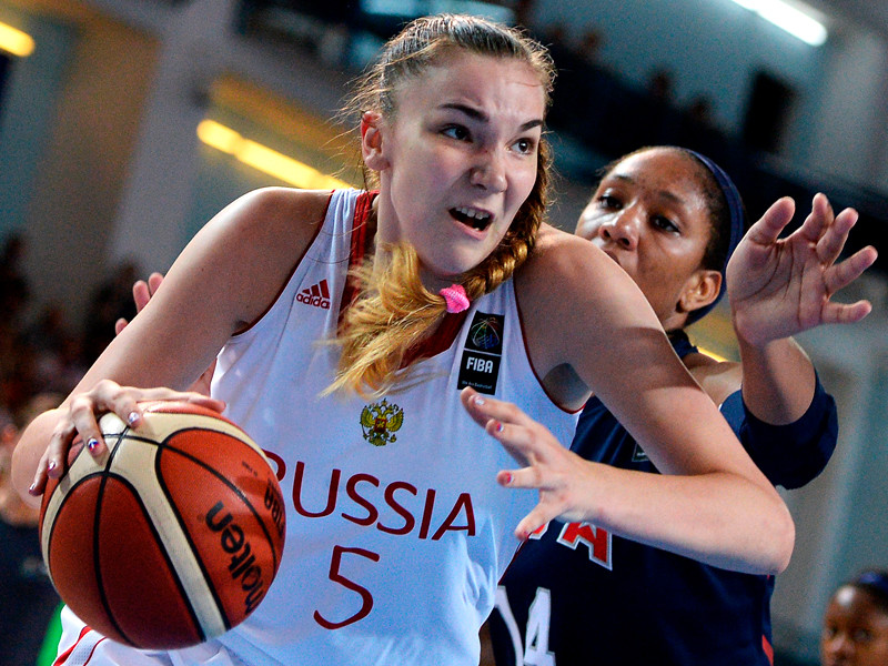 MVP чемпионата мира Мария Вадеева