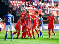 Футболистки сборной РФ одержали историческую победу на чемпионате Европы