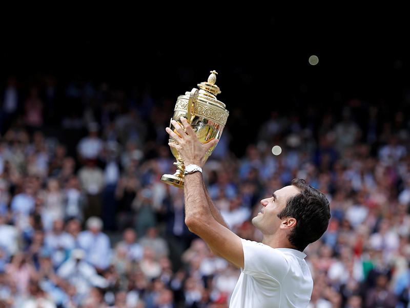 Швейцарский теннисист Роджер Федерер уверенно переиграл в финале Уимблдона хорвата Марина Чилича со счетом 6:3, 6:1, 6:4. Матч продолжался 1 час 45 минут