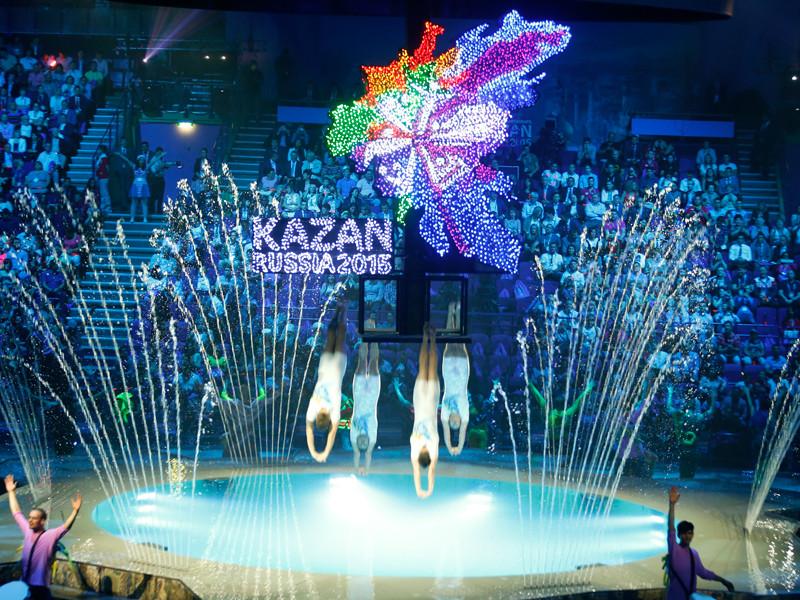 Столица Татарстана в 2015 году принимала 16-й чемпионат мира по водным видам спорта