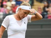 Светлана Кузнецова проиграла в четвертьфинале Уимблдона