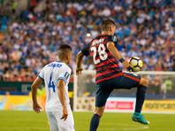 Сальвадорских футболистов, покусавших американских игроков, дисквалифицировали