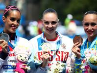 Синхронистка Светлана Колесниченко выиграла произвольную программу на чемпионате мира
