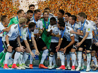 Футболисты сборной Германии впервые выиграли Кубок конфедераций
