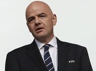 Президент ФИФА информацию о применении допинга в российском футболе назвал спекуляцией