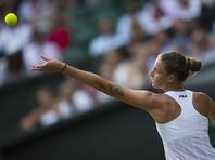 Новой теннисной королевой станет чешка Каролина Плишкова