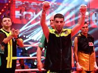 Боксер Алоян во втором профессиональном бою завоевал титул WBC Silver