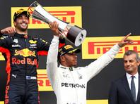 Хэмилтон выиграл Гран-при Бельгии и сократил отставание от Феттеля до семи очков